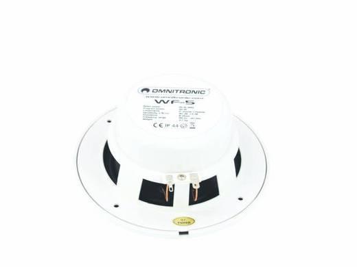 Omnitronic WF-5 Einbaulautsprecher 45 W 8 Ω Weiß 1 St.
