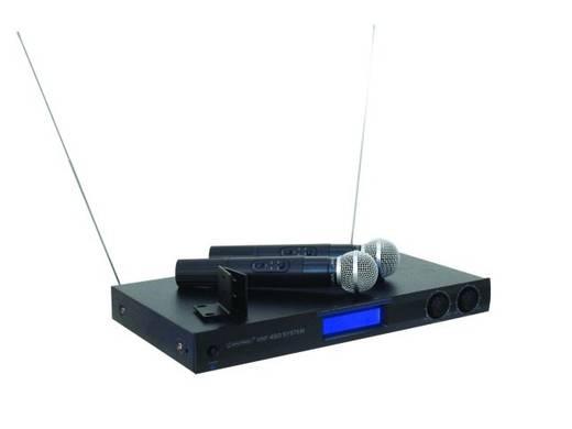 Omnitronic VHF-450 Funkmikrofon-Set Übertragungsart:Funk