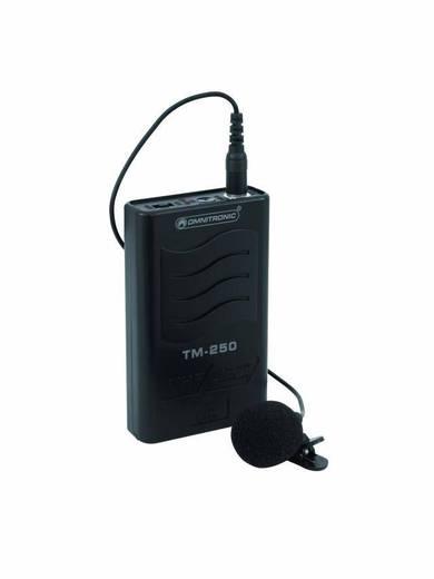 Ansteck Sprach-Mikrofon Omnitronic TM-250 Übertragungsart:Funk