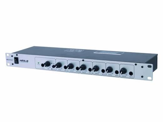 Kopfhörerverstärker Omnitronic HPA-6 Grau