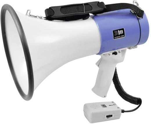 Megaphon Omnitronic integrierte Sounds, mit Haltegurt, mit Handmikrofon