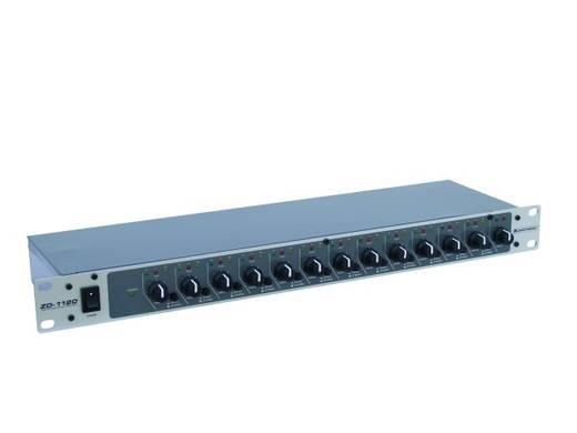 19 Zoll Mischpult Omnitronic ZD-1120 Anzahl Kanäle:12