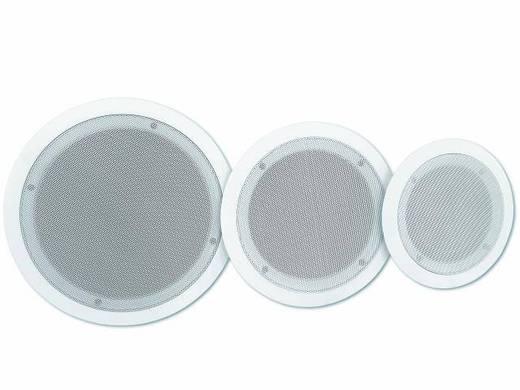 Einbaulautsprecher Omnitronic CS-6 5 W 100 V Weiß 1 St.