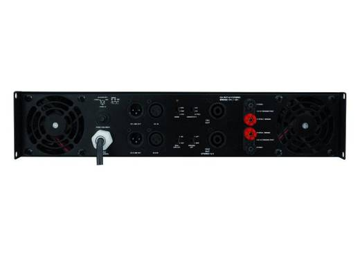 PSSO HP-2400 PA Verstärker RMS Leistung je Kanal an 4 Ohm: 1200 W