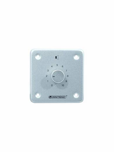 Omnitronic Einbau ELA-Lautstärkeregler mono Silber