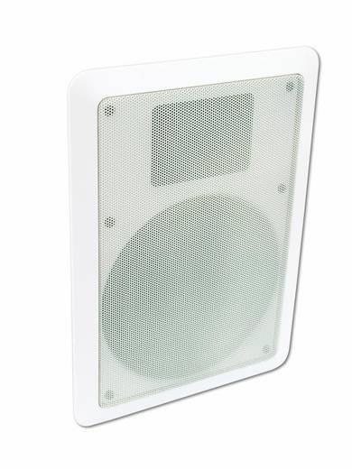 Einbaulautsprecher Omnitronic CSS-6 5 W 100 V Weiß 1 St.