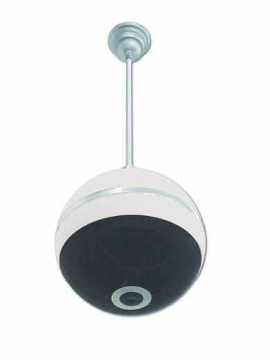 ELA-Deckenlautsprecher Omnitronic WPC-5W 20 W 100 V Weiß 1 St.