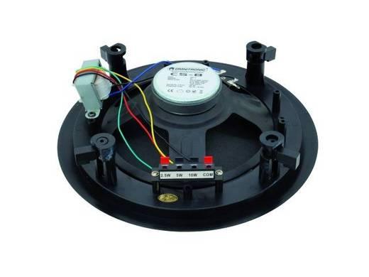 Einbaulautsprecher Omnitronic CS-8 10 W 100 V Schwarz 1 St.