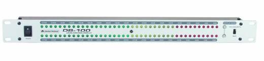1-Kanal 19 Zoll Lautstärke-Anzeige Omnitronic DB-100