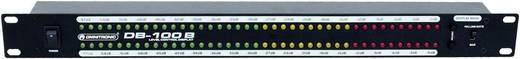 1-Kanal 19 Zoll Lautstärke-Anzeige Omnitronic DB-100B