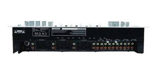 Omnitronic EM-650 19 Zoll Mischpult Anzahl Kanäle:5