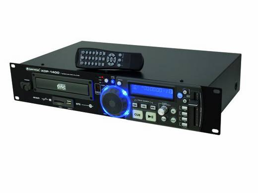 DJ Einzel CD Player 19 Zoll Omnitronic XDP-1400