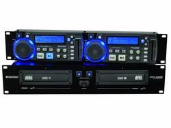 Image of DJ Doppel CD Player Omnitronic XCP-2800