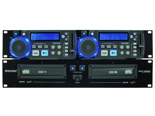 DJ Doppel CD Player Omnitronic XCP-2800