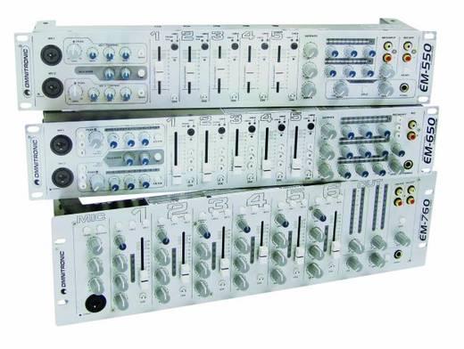 DJ Mixer 19 Zoll Einbau Omnitronic EM-550