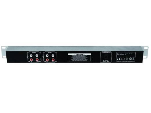 2-Kanal 19 Zoll Lautstärke-Anzeige Omnitronic DB-200
