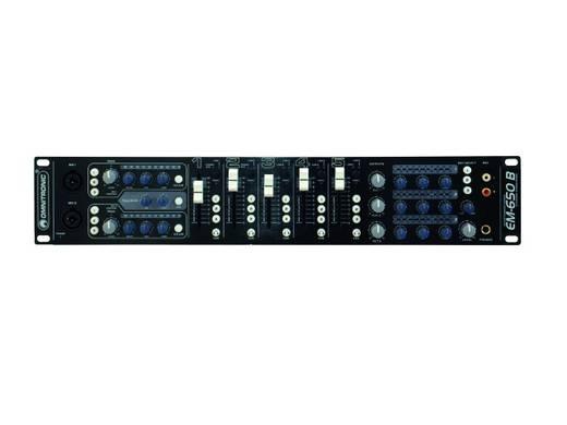 19 Zoll Mischpult Omnitronic EM-650B Anzahl Kanäle:5