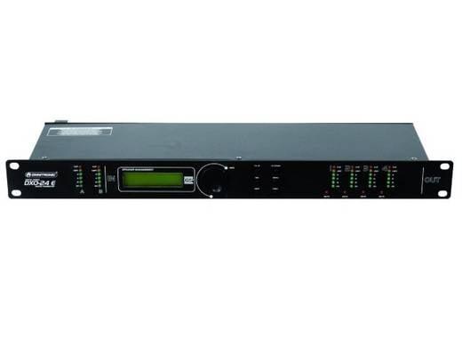 4-Kanal 19 Zoll Frequenzweiche Omnitronic DXO-24E mit Display
