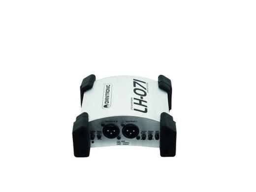 Aktive DI Box 2-Kanal Omnitronic LH-071 Duale active