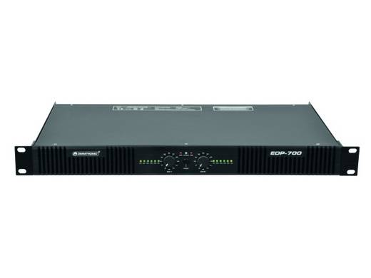 PA Verstärker Omnitronic EDP-700 RMS Leistung je Kanal an 4 Ohm: 360 W