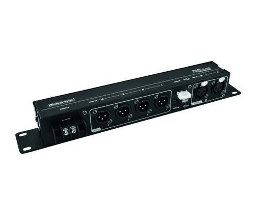4-Kanal 19 Zoll Frequenzweiche Omnitronic DXO-24S mit Software