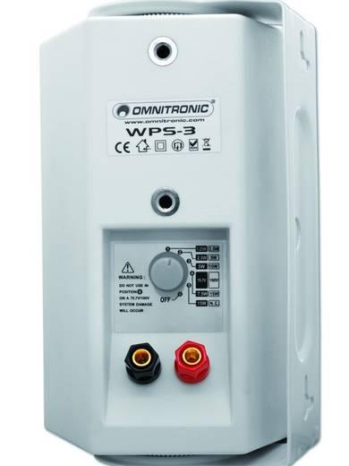 ELA-Wandlautsprecher Omnitronic WPS-3W 15 W Weiß 1 St.