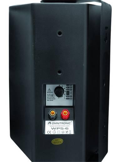 ELA-Wandlautsprecher Omnitronic WPS-6S 40 W Schwarz 1 St.