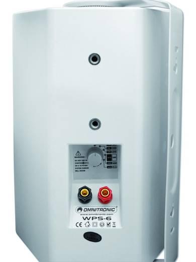 ELA-Wandlautsprecher Omnitronic WPS-6W 40 W Weiß 1 St.