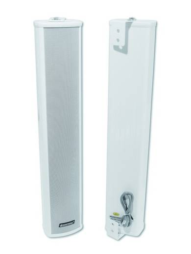 ELA-Tonsäule Omnitronic PCW-30 30 W Weiß 1 St.