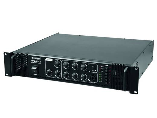 ELA-Verstärker Omnitronic MPZ-500.6 500 W 6-Zonen