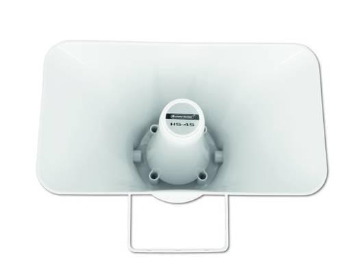 ELA-Druckkammerlautsprecher Omnitronic HS-45 30 W Weiß 1 St.