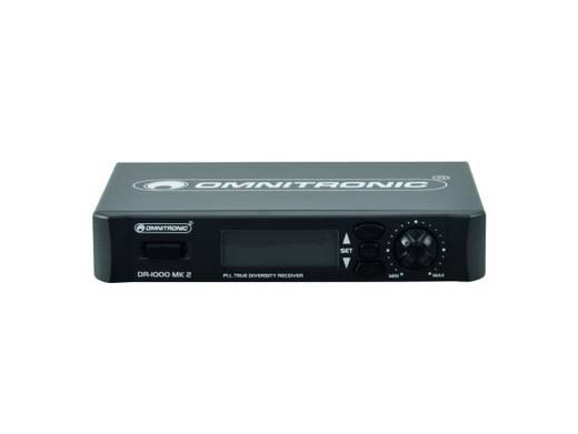Funk-Empfänger Omnitronic DR-1000 MK2