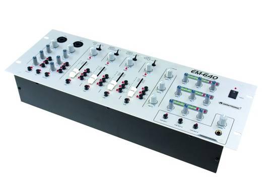 DJ Mixer 19 Zoll Einbau Omnitronic EM-640