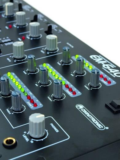 DJ Mixer 19 Zoll Einbau Omnitronic EM-640B