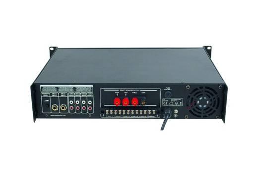 ELA-Verstärker Omnitronic MPVZ-180.6 180 W 6-Zonen