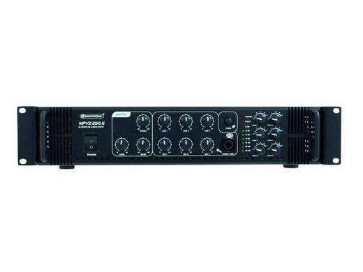 ELA-Verstärker Omnitronic MPVZ-250.6 250 W 6-Zonen