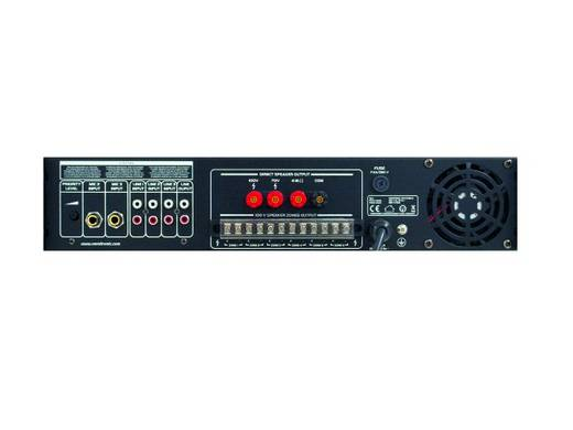 ELA-Verstärker Omnitronic MPVZ-350.6 350 W 6-Zonen