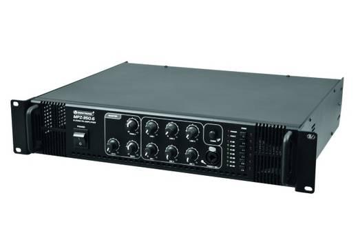 ELA-Verstärker Omnitronic MPZ-350.6 350 W 6-Zonen
