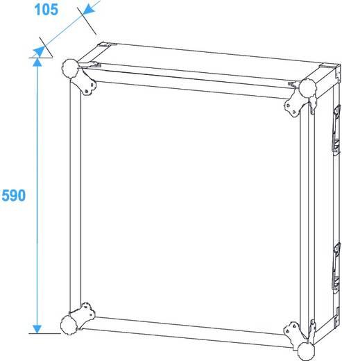 19 Zoll Rack 12 HE PR-2 Holz inkl. Griff