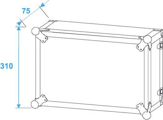 19 Zoll Rack 6 HE 30107240 Holz inkl. Griff
