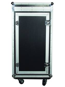 Case (kufr) 30110000 30110000, (d x š x v) 560 x 640 x 1050 mm, černá/stříbrná