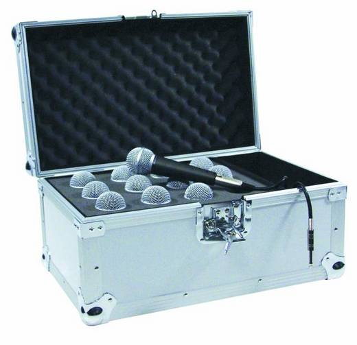 Mikrofoncase (L x B x H) 340 x 520 x 330 mm