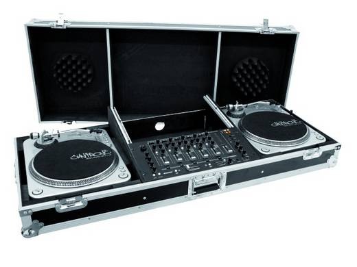 DJ-Mixer Case Konsole Road PRO (L x B x H) 560 x 1360 x 270 mm