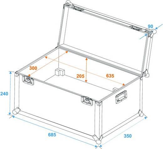 Case Transportcase X-510/X-510ll (L x B x H) 370 x 710 x 330 mm
