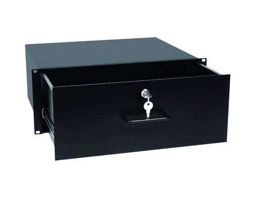 19 Zoll Rackschublade 4 HE Omnitronic 30100954 Aluminium