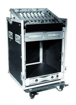Case (kufr) 30110001 30110001, (d x š x v) 570 x 640 x 960 mm, černá/stříbrná