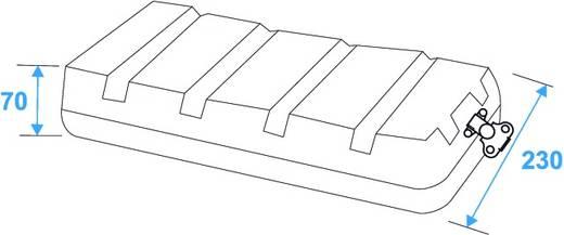 19 Zoll Rack 4 HE KR-19 Kunststoff inkl. Griff