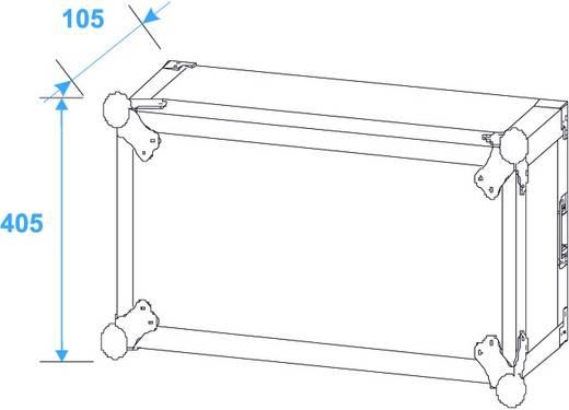 19 Zoll Rack 8 HE PR-2ST Holz inkl. Griff