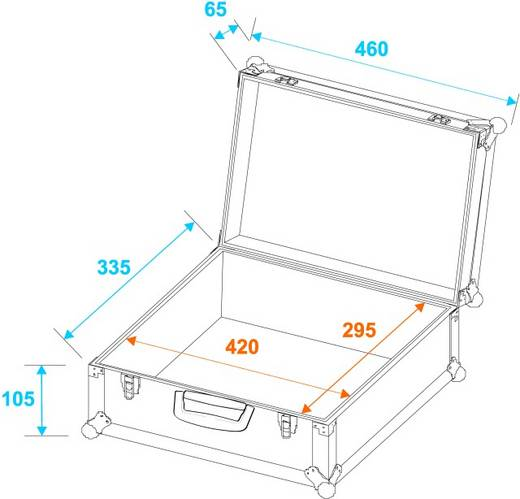 Universal-Koffer-Case FOAM, alu