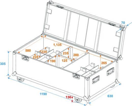 Case 31000620 (L x B x H) 650 x 1200 x 390 mm